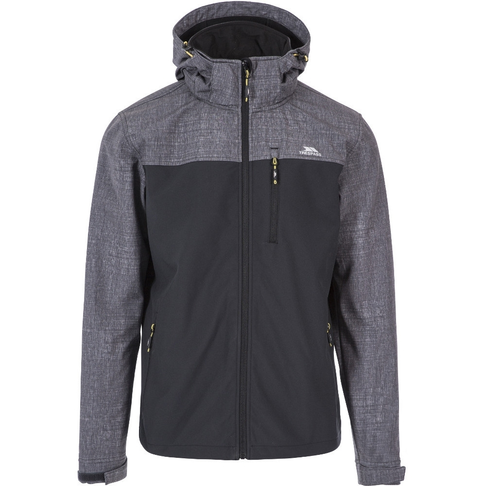 Trespass Mens Abbott Tp75 Waterproof Warm Softshell Jacket Xxl- Chest 46-48 (117 - 122cm)