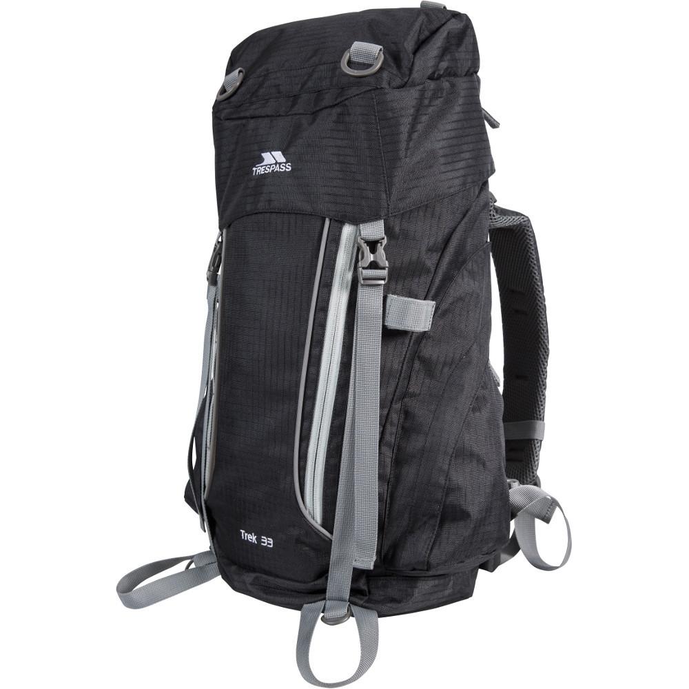 Trespass Mens Trek 33 Padded Supportive Walking Backpack 33 Litres