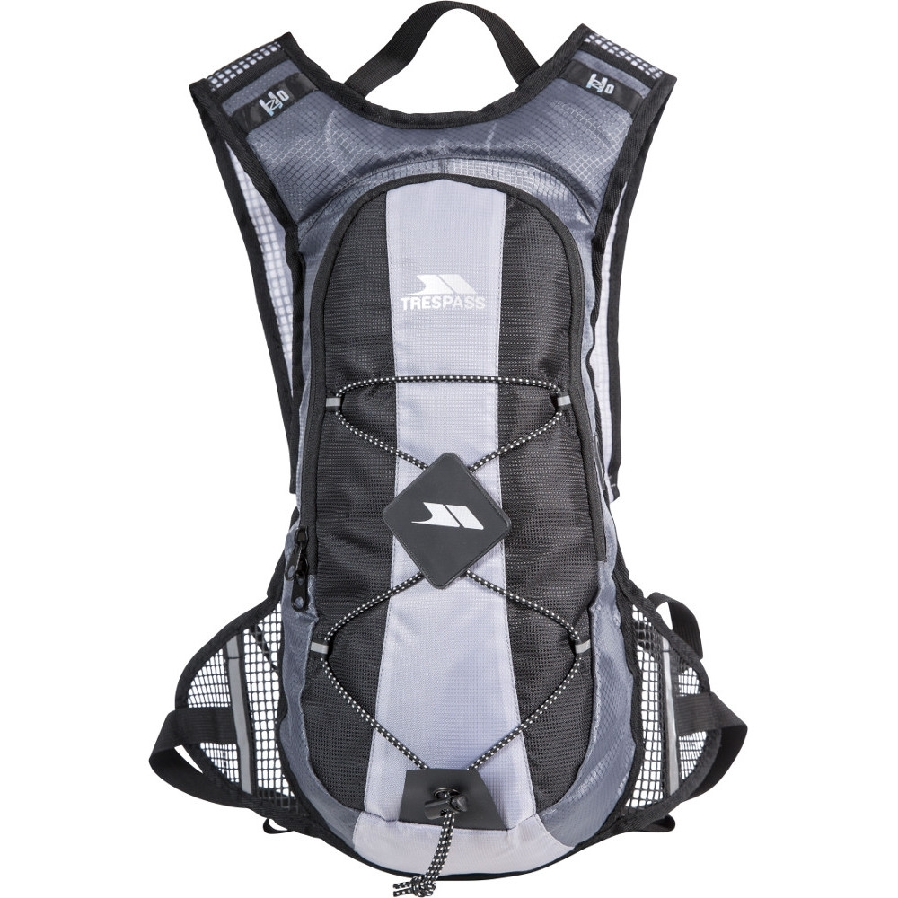 Trespass Mens Mirror Fitness Training Hydration Backpack 15 Litres