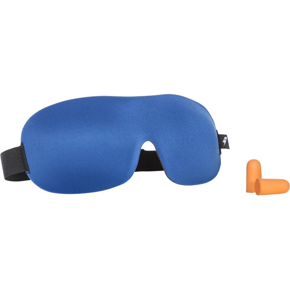 Trespass Mens Kip Two Layer Shaped Foam Travel Eye Mask One Size