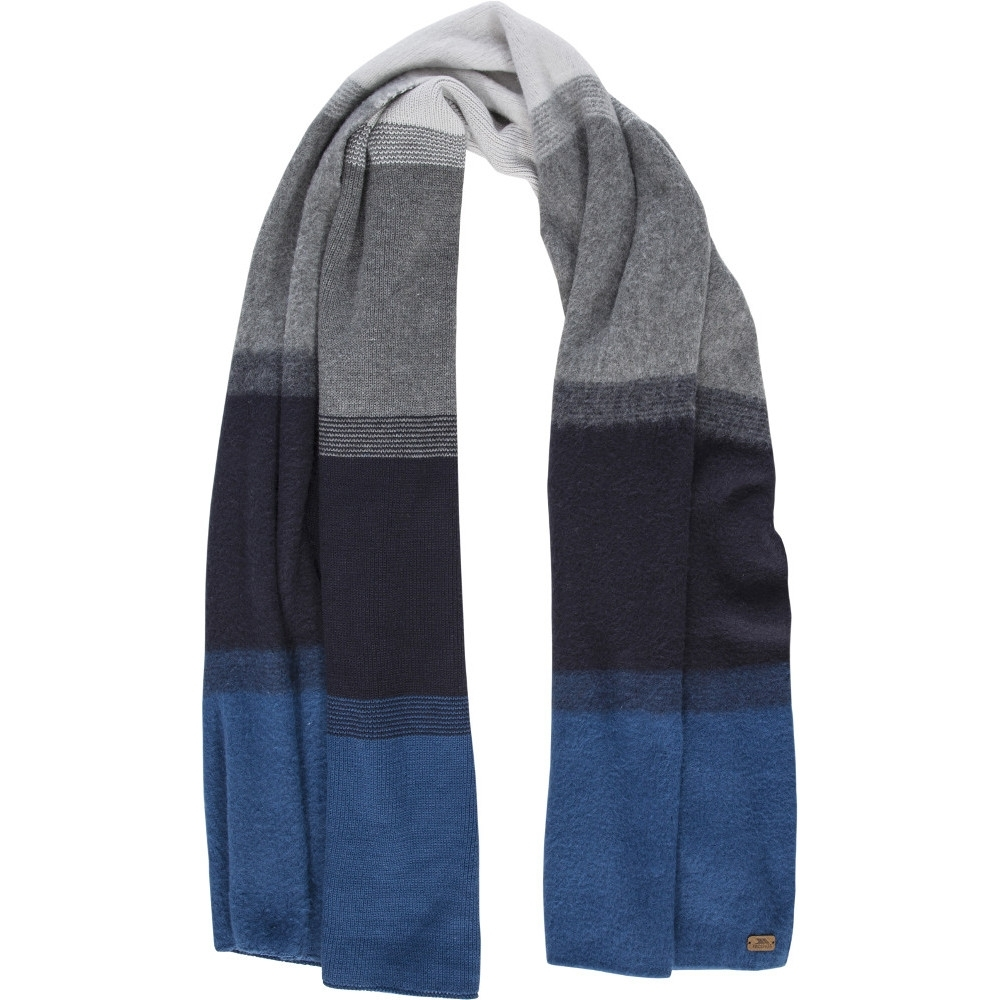 Trespass Mens Embrace Long Length Knitted Winter Scarf One Size