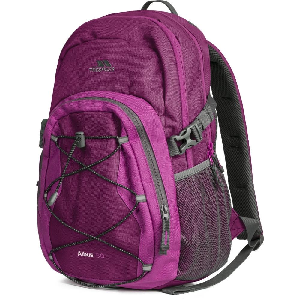 Trespass Mens Albus Multi Functionable Adjustable Backpack 30 Litres