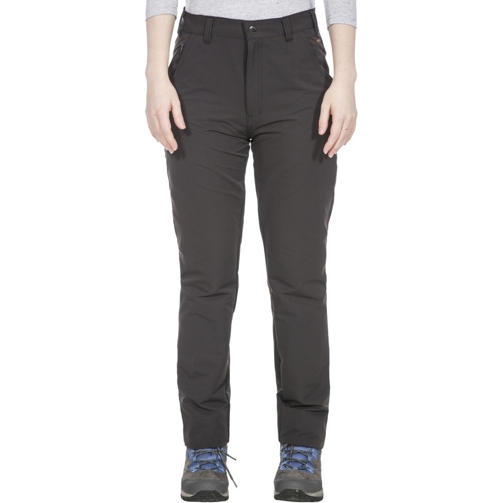 Trespass Womens Amazonite Stretchy Uv 40+ Quick Dry Trousers L- Uk 14  Waist 32 (81cm)