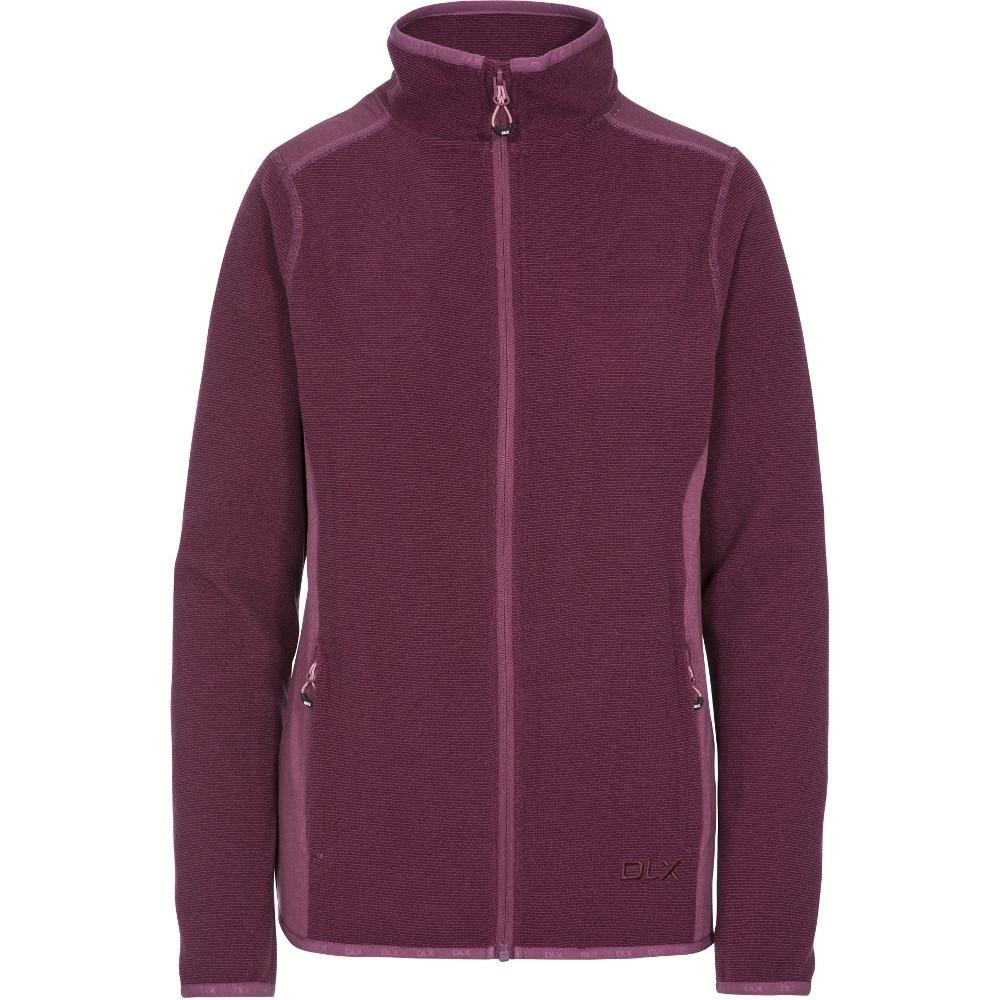 Trespass Womens Kelsay Dlx Full Zip Fleece Jacket Coat  S- Uk 10  Bust 34 (86cm)