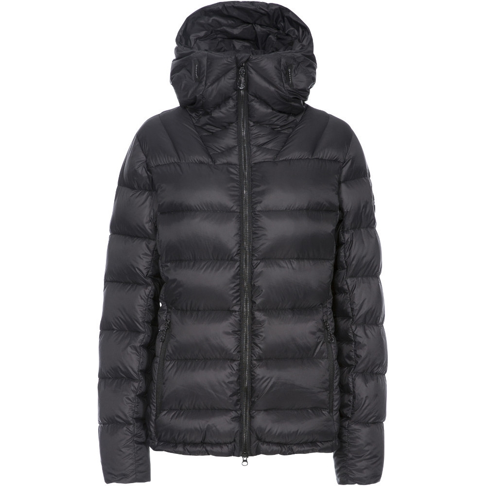 Trespass Womens Pedley Dlx Insulated Padded Hooded Warm Coat S- Uk 10  Bust 34 (86cm)