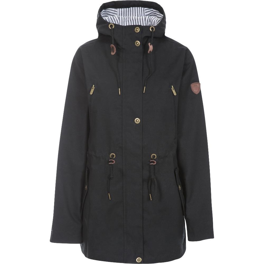 Trespass Womens Johanna Long Length Waterproof Parka Coat M- Uk 12  Bust 36 (91.4cm)