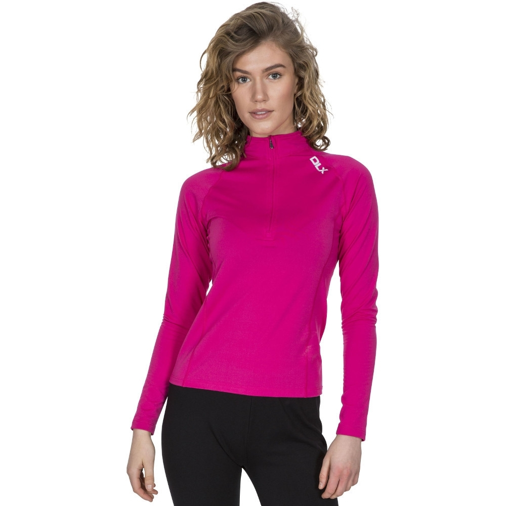 Trespass Womens Odette Quick Dry Wicking Base Layer Top Xl- Uk 16  Bust 40 (101.5cm)