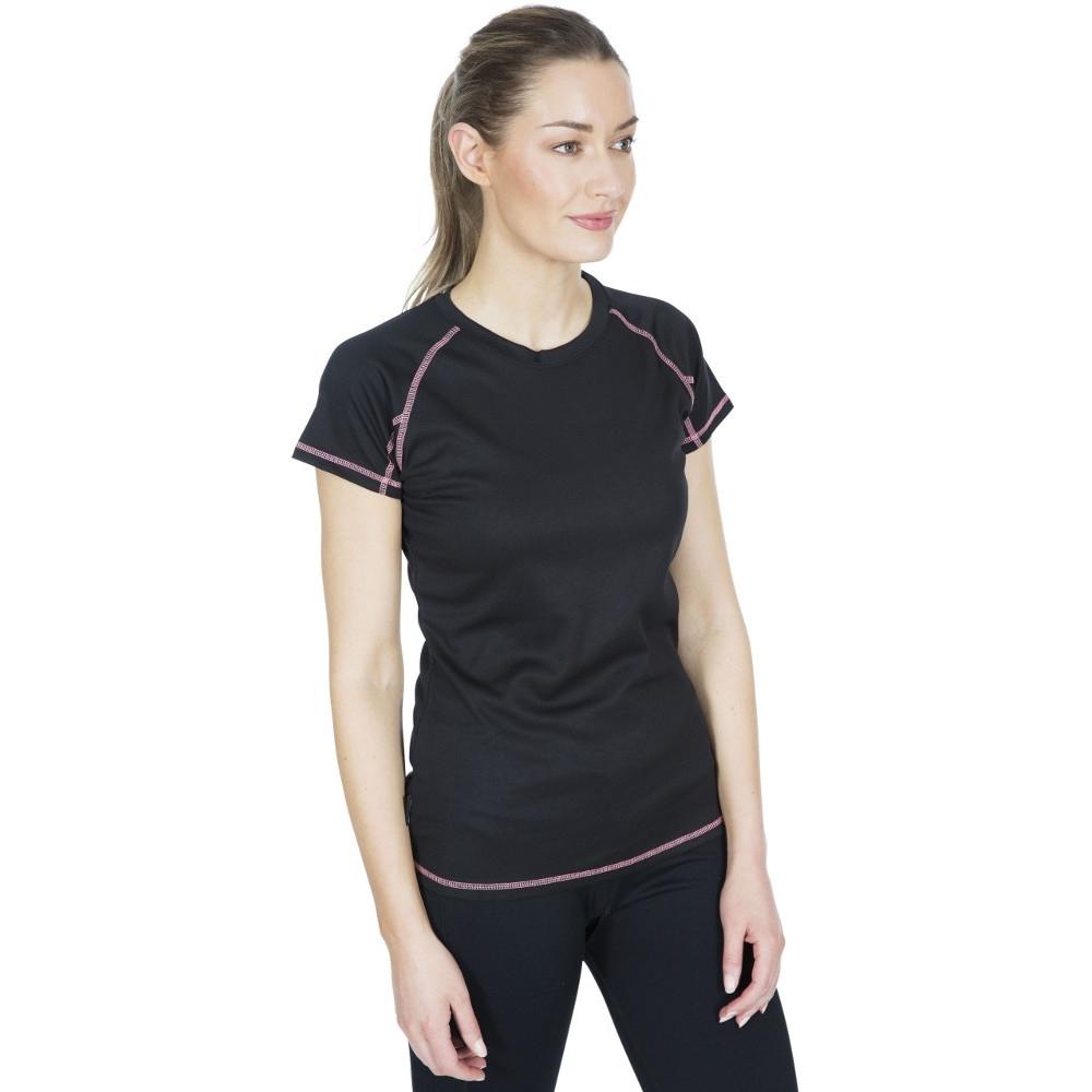 Trespass Womens Viktoria Tp50 Quick Dry Short Sleeve T Shirt S- Uk 10  Bust 34 (86cm)