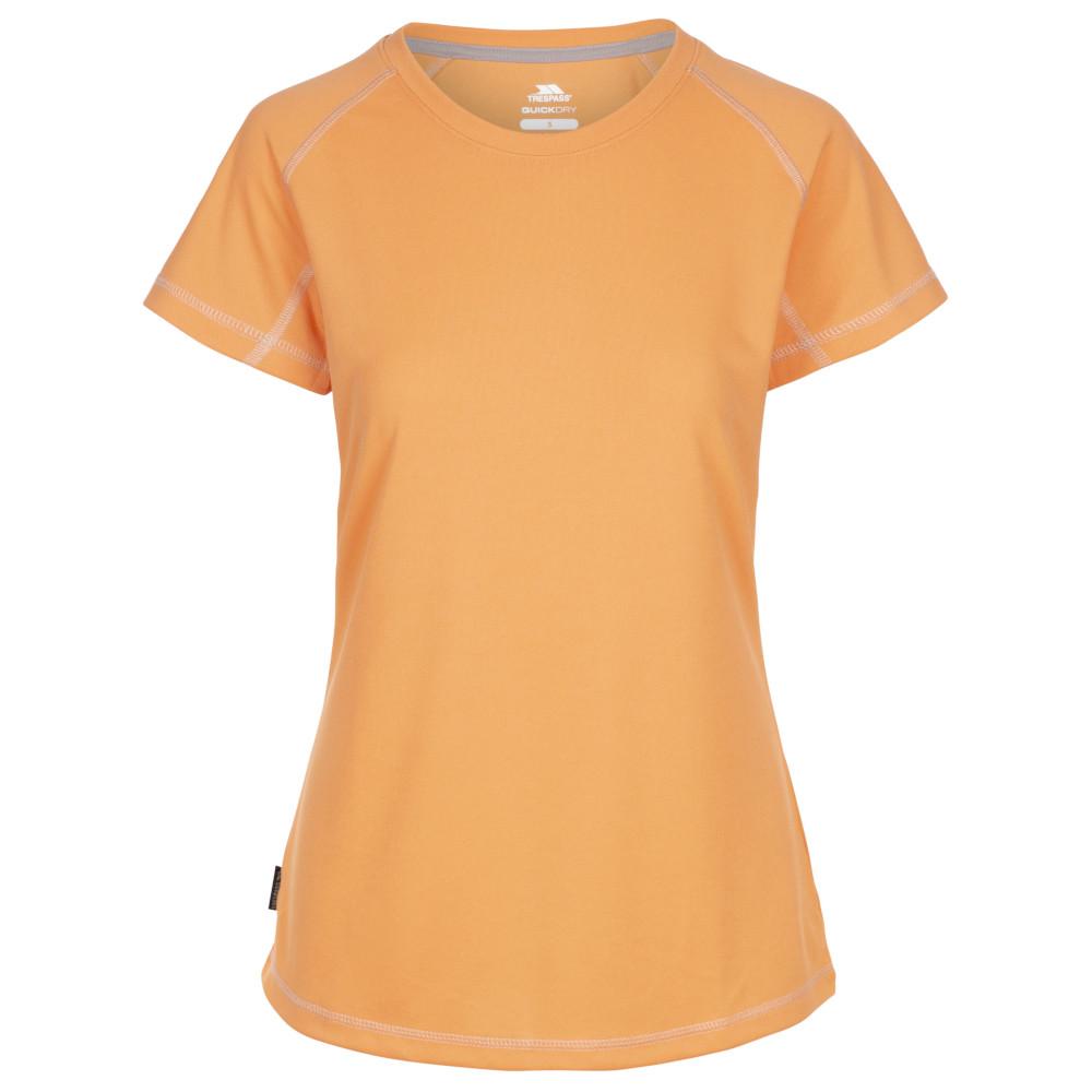 Trespass Womens Viktoria Tp50 Quick Dry Short Sleeve T Shirt L- Uk 14  Bust 38 (96.5cm)