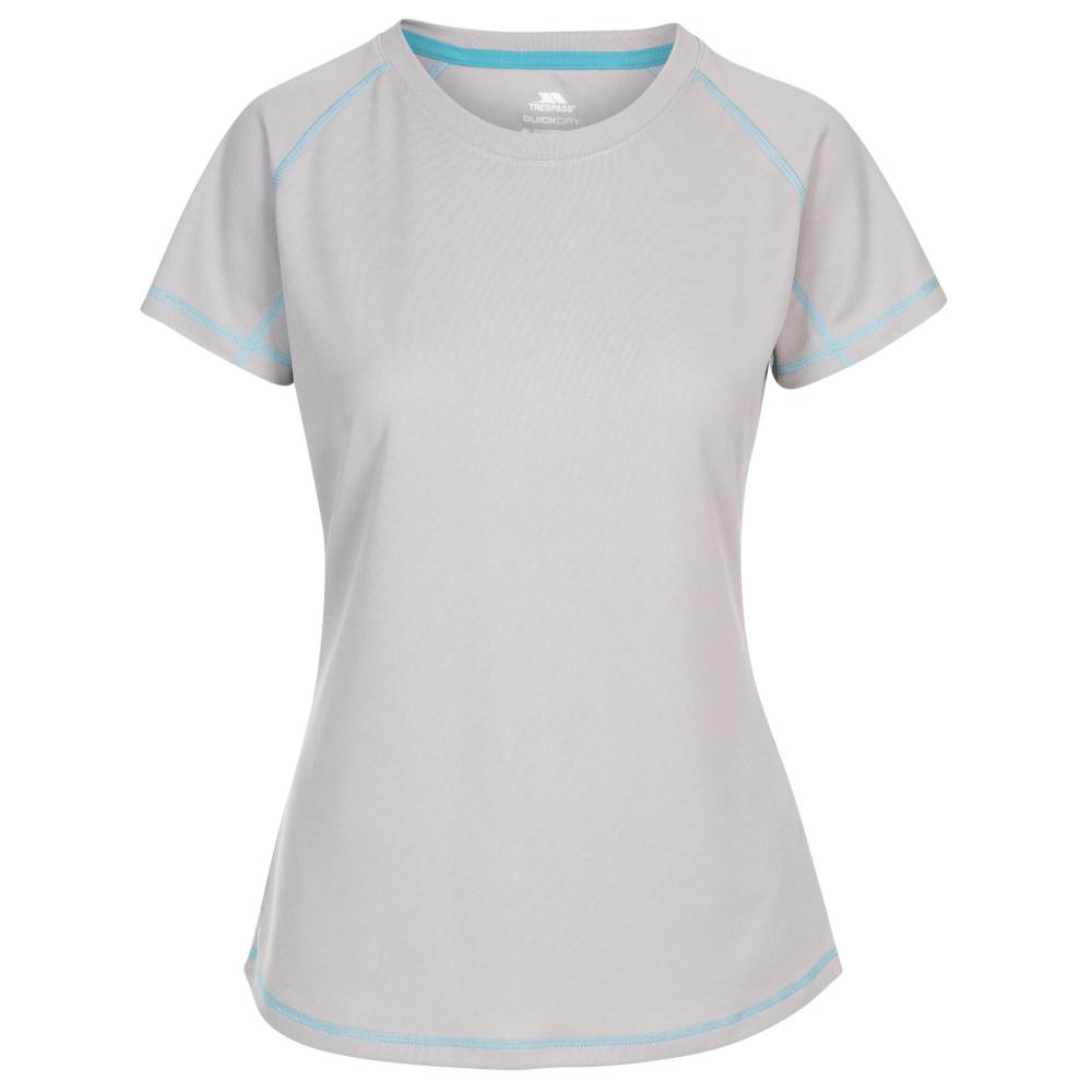 Trespass Womens Viktoria Tp50 Quick Dry Short Sleeve T Shirt 3xl-uk 20  Bust 44 (112cm)