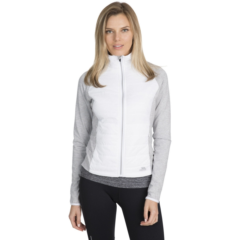 Trespass Womens Zorina Active Padded Full Zip Jacket 14/l - Bust 38 (96.5cm)