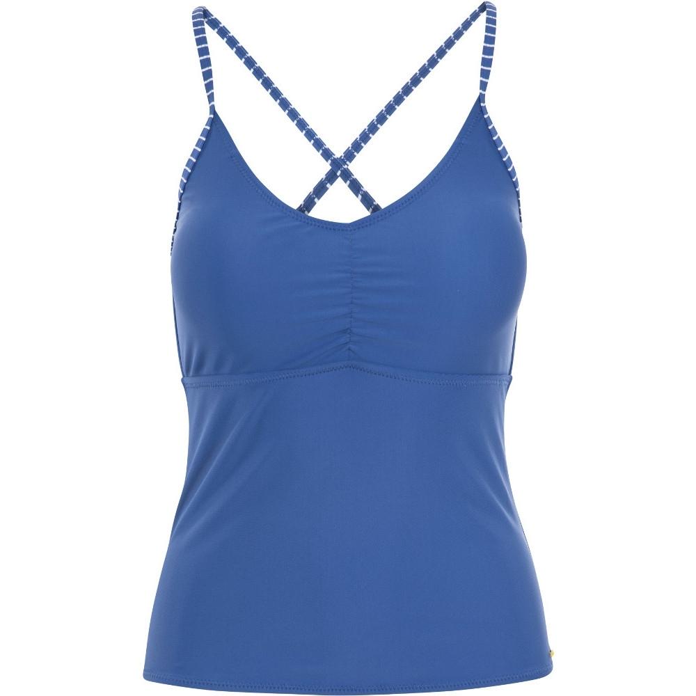 Trespass Womens Martha Swimwear Adjustable Tankini Top 14/l - Bust 38 (96.5cm)