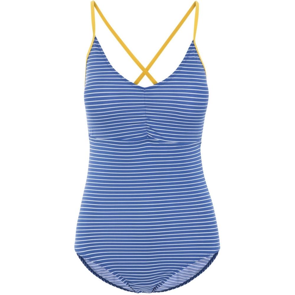 Trespass Womens Sophia Crossover Adjustable Summer Swimsuit 12/m - Bust 36 (91.4cm)