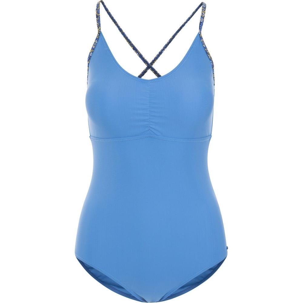 Trespass Womens Sophia Crossover Adjustable Summer Swimsuit 14/l - Bust 38 (96.5cm)