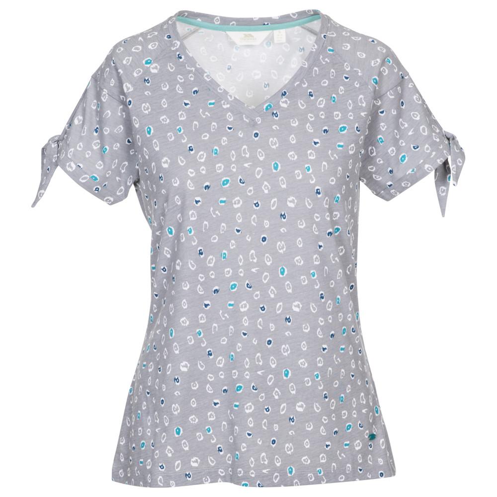 Trespass Womens Fernie V Neck Printed Casual T Shirt 20/3xl - Bust 44 (111.8cm)
