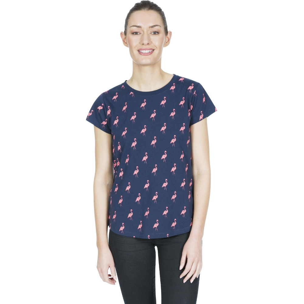 Trespass Womens Carolyn Printed Round Neck T Shirt 12/m - Bust 36 (91.4cm)
