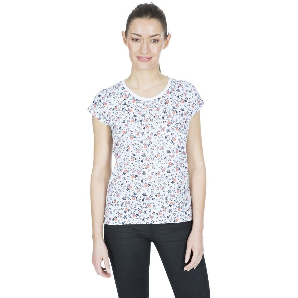 Trespass Womens Charlene Printed Round Neck T Shirt Top 10/s - Bust 34 (86cm)