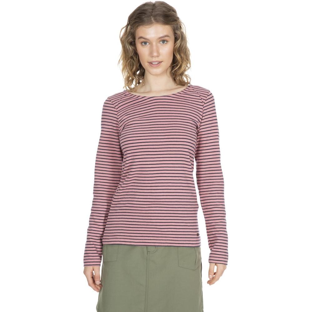 Trespass Womens Moomba Long Sleeved Casual T Shirt Top 12/m - Bust 36 (91.4cm)