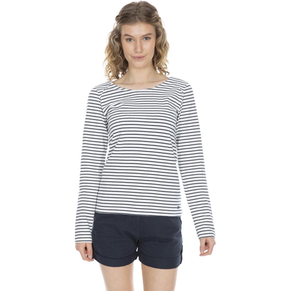 Trespass Womens Moomba Long Sleeved Casual T Shirt Top 14/l - Bust 38 (96.5cm)