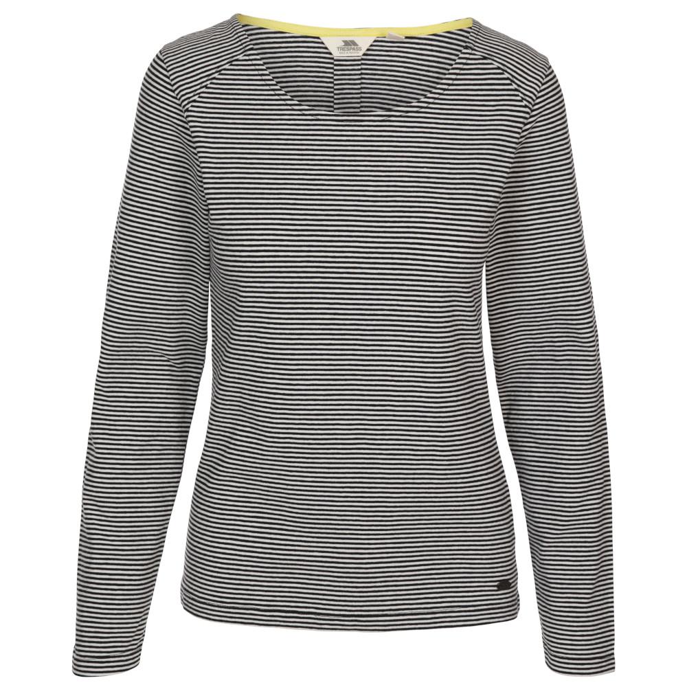 Trespass Womens Caribou Long Sleeve Casual T Shirt 8/xs - Bust 32 (81cm)