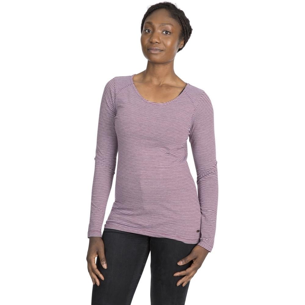 Trespass Womens Caribou Long Sleeve Casual T Shirt 16/xl - Bust 40 (101.5cm)