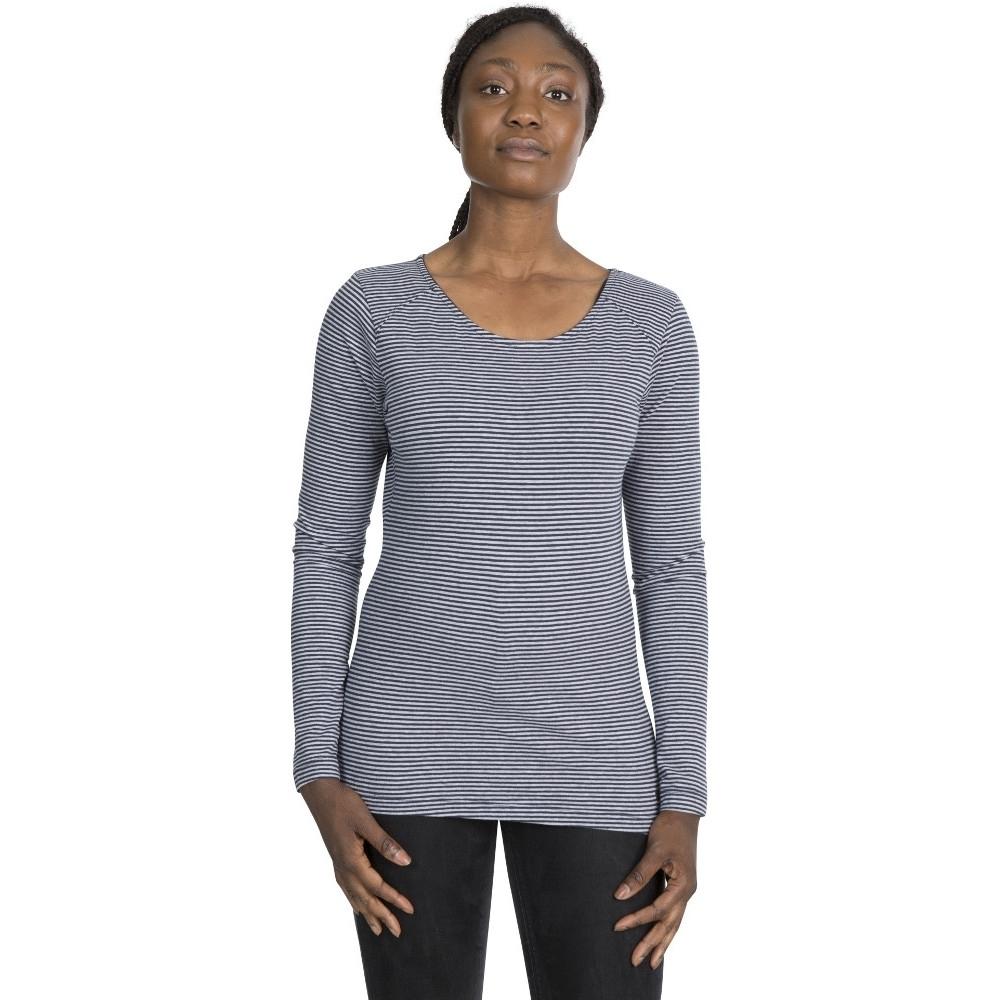 Trespass Womens Caribou Long Sleeve Casual T Shirt 12/m - Bust 36 (91.4cm)
