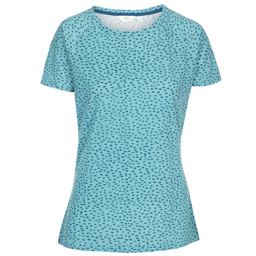 Trespass Womens Ani Crew Neck Short Sleeve T Shirt 6/xxs - Bust 31 (78cm)