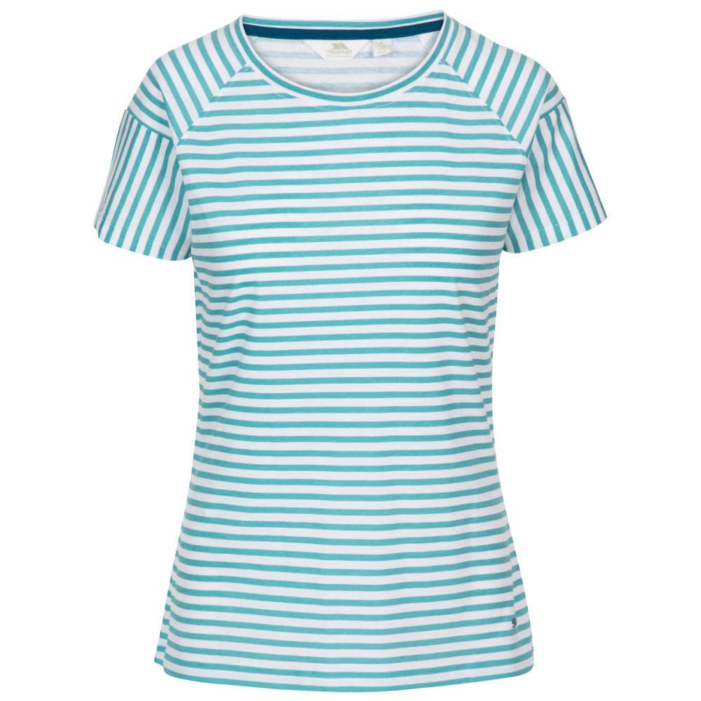 Trespass Womens Ani Crew Neck Short Sleeve T Shirt 20/3xl - Bust 44 (111.8cm)