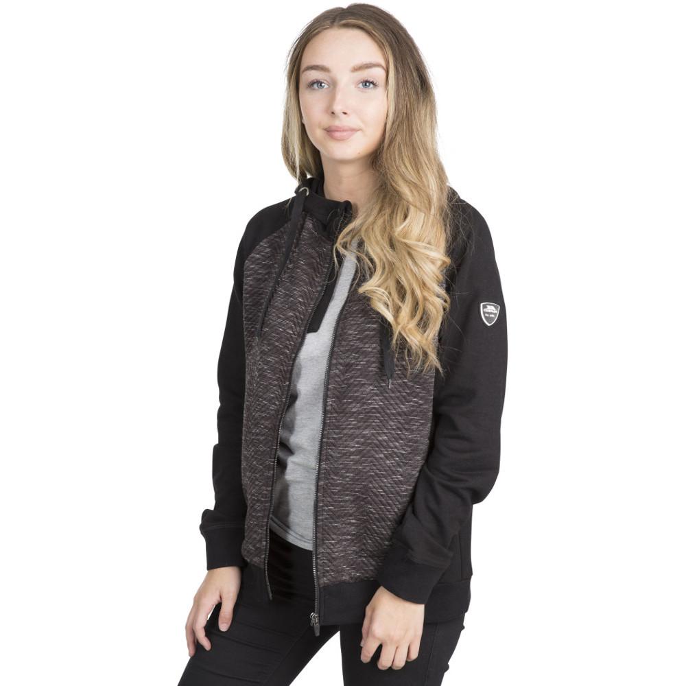 Trespass Womens Mairi Full Zip Casual Sweater Hoodie 12/m - Bust 36 (91.4cm)