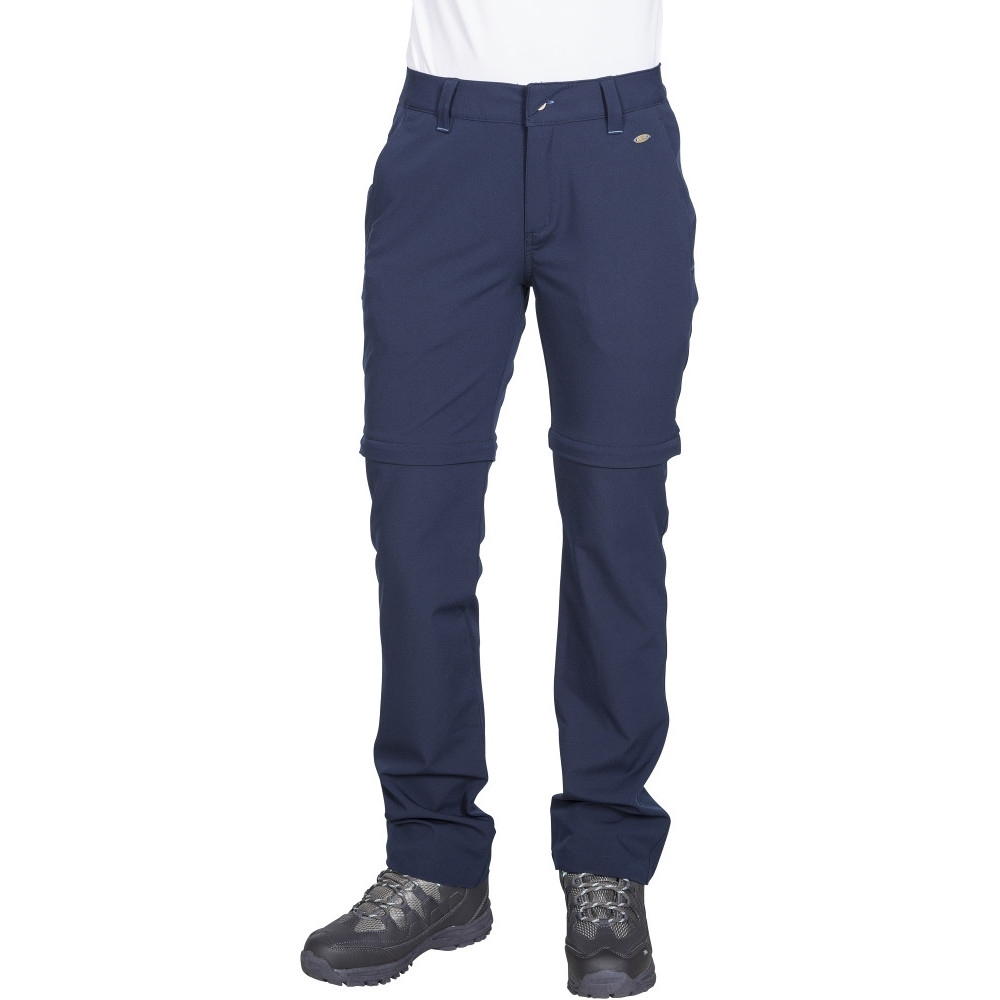 Trespass Womens Eadie Convertible Walking Trousers 6/xxs - Waist 23 (61cm)