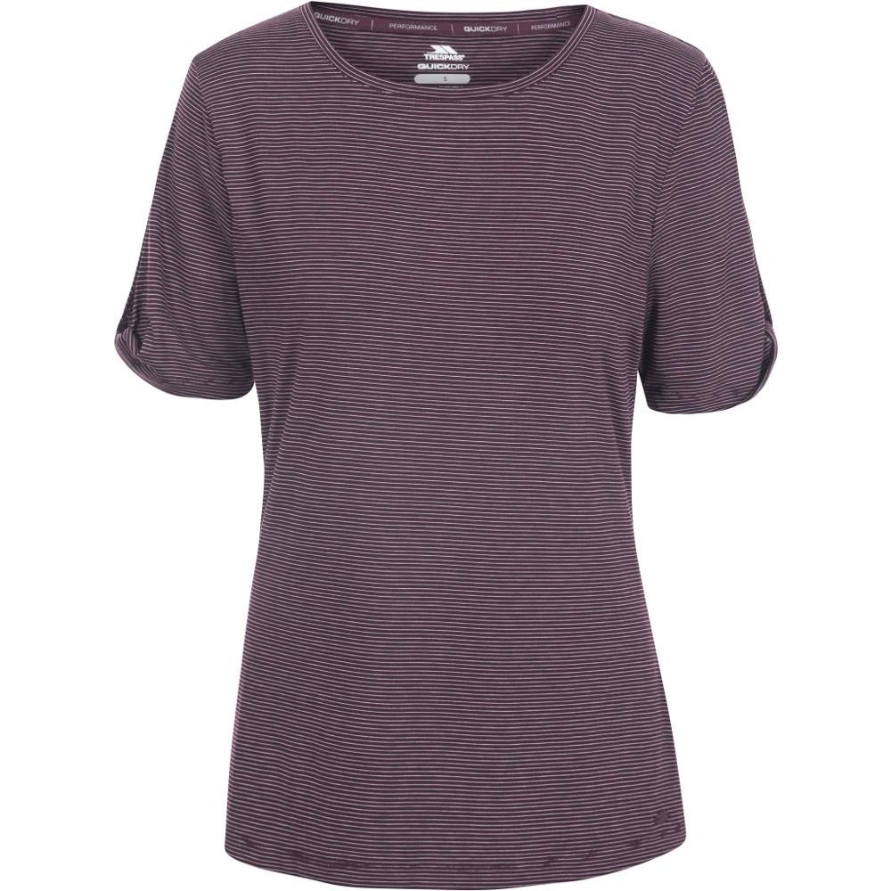 Trespass Womens Eden Round Neck Quick Drying T Shirt 10/s - Bust 34 (86cm)