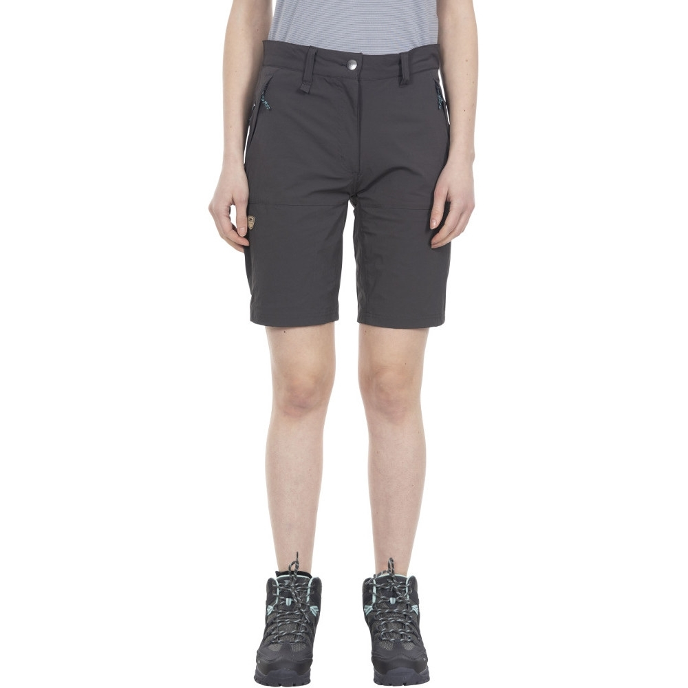 Trespass Womens Rueful Quick Dry Multi Pocket Shorts 8/xs - Waist 25 (66cm)
