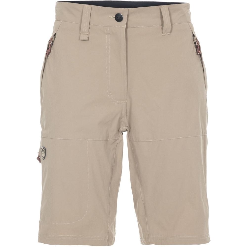 Trespass Womens Rueful Quick Dry Multi Pocket Shorts 6/xxs - Waist 23 (61cm)