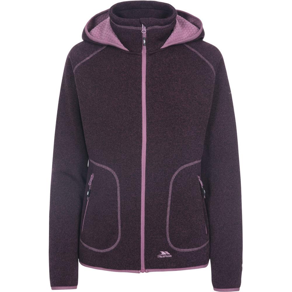 Trespass Womens Splendor Full Zip Casual Sweater Hoodie 16/xl - Bust 40 (101.5cm)