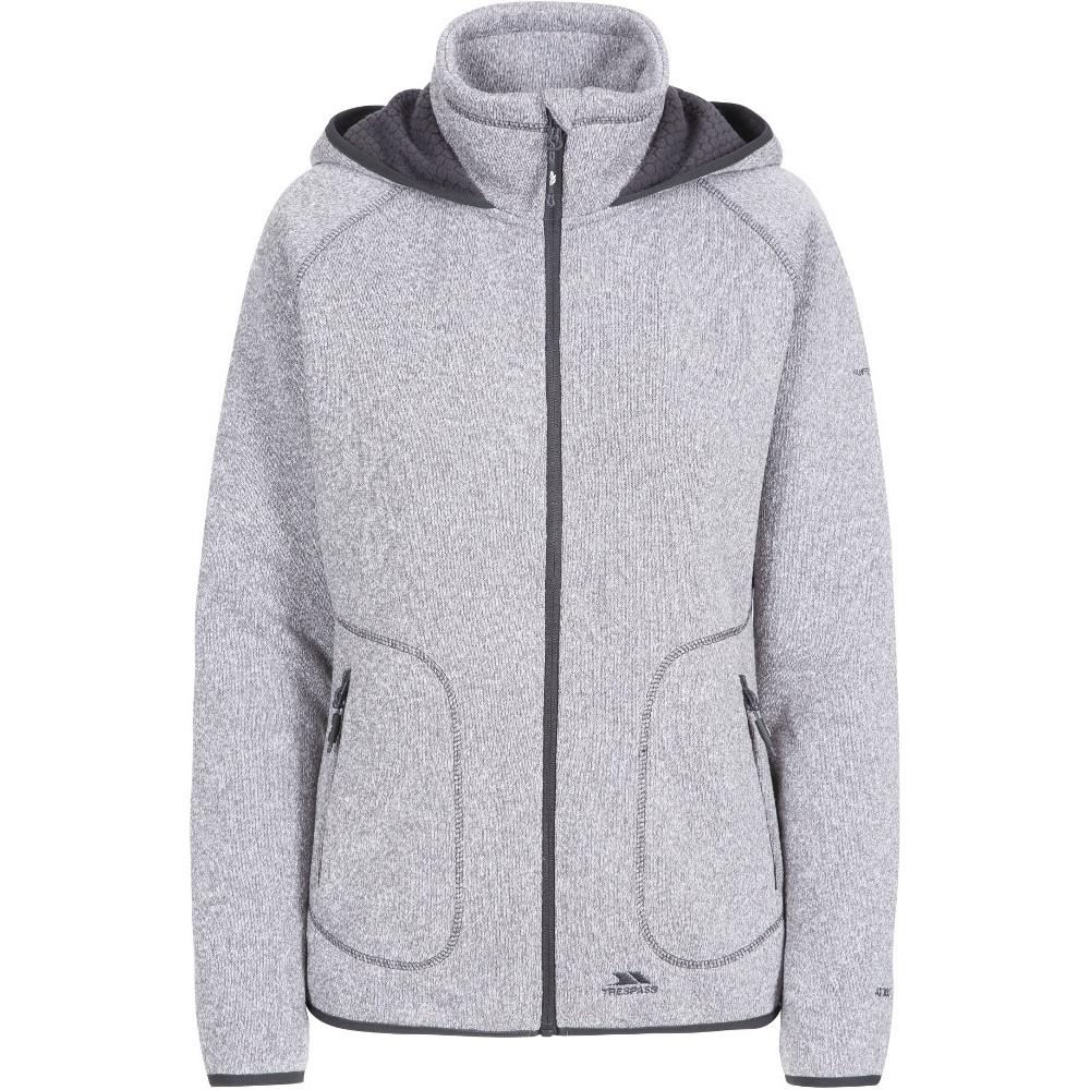 Trespass Womens Splendor Full Zip Casual Sweater Hoodie 20/3xl - Bust 44 (111.8cm)