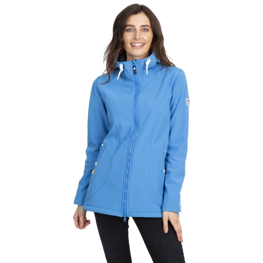 Trespass Womens Kinsley Waterproof Hooded Softshell Jacket 12/m - Bust 36 (91.4cm)