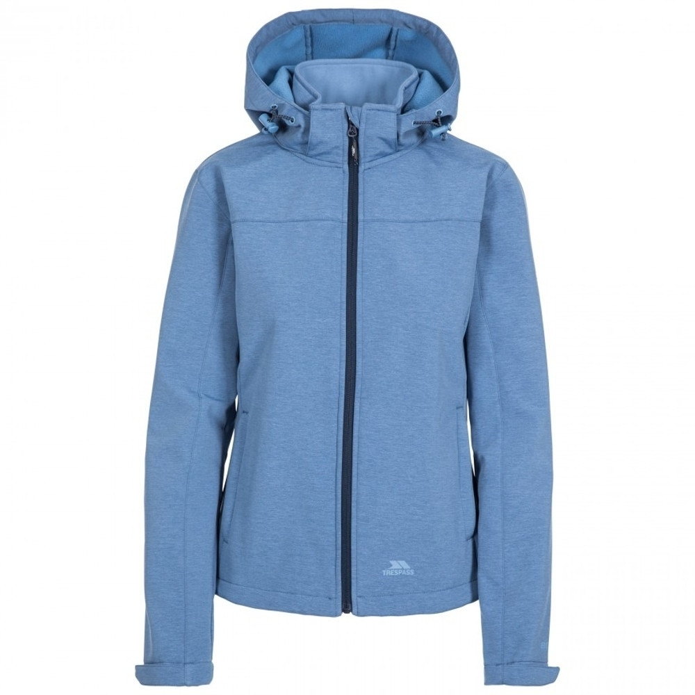 Trespass Womens Leah Breathable Waterproof Softshell Coat 14/l - Bust 38 (96.5cm)
