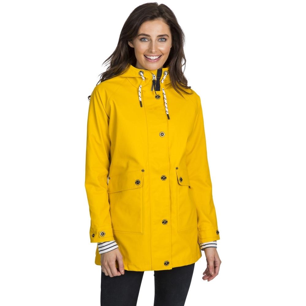 Trespass Womens Shoreline Windproof Waterproof Rain Coat 14/l - Bust 38 (96.5cm)