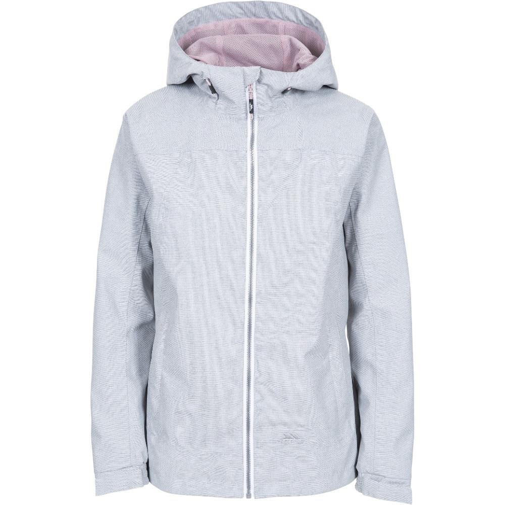 Trespass Womens Virtual Textured Breathable Waterproof Coat 6/xxs - Bust 31 (78cm)