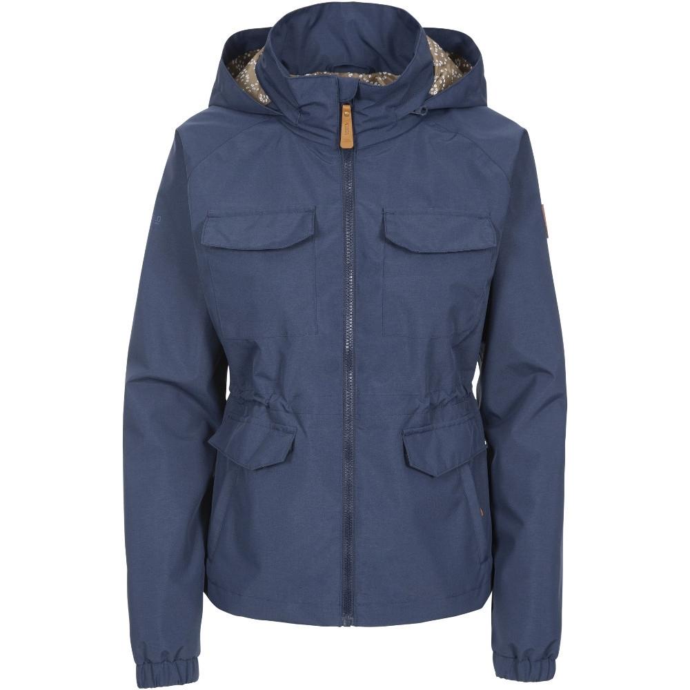 Trespass Womens Busybee Windproof Waterproof Coat 6/xxs - Bust 31 (78cm)