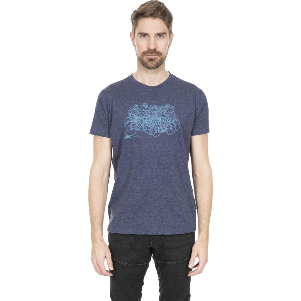 Trespass Mens Wicky Ii Wicking Quick Dry Round Neck T Shirt M - Chest 38-40 (96.5-101.5cm)