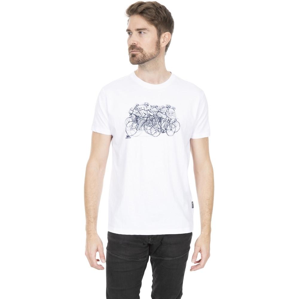 Trespass Mens Wicky Ii Wicking Quick Dry Round Neck T Shirt Xs - Chest 33-35 (84-89cm)