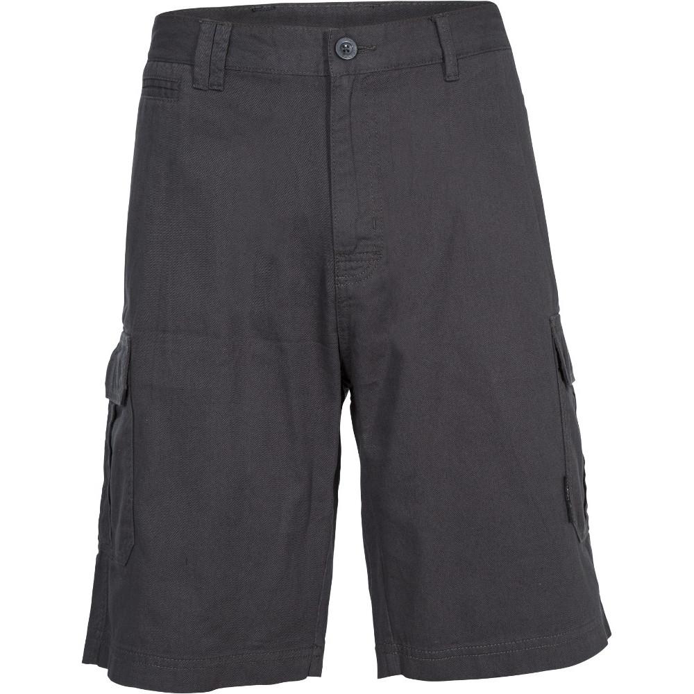 Trespass Mens Rawson Lightweight Breathable Cotton Shorts Xxs - Waist 29-31 (77-82cm)