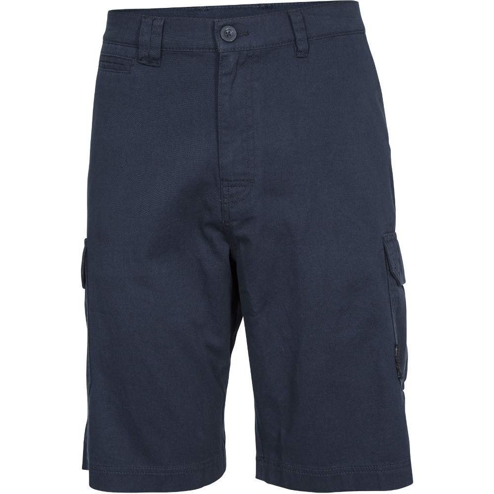 Trespass Mens Rawson Lightweight Breathable Cotton Shorts Xs - Waist 27-29 (68-75cm)