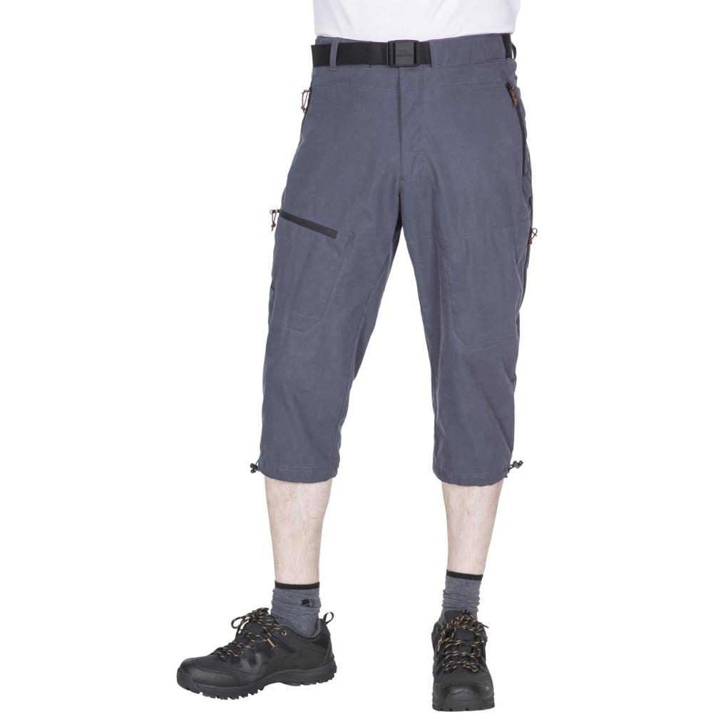 Trespass Mens Wellbake Long Length Capri Walking Shorts S - Waist 30-32 (76-81cm)