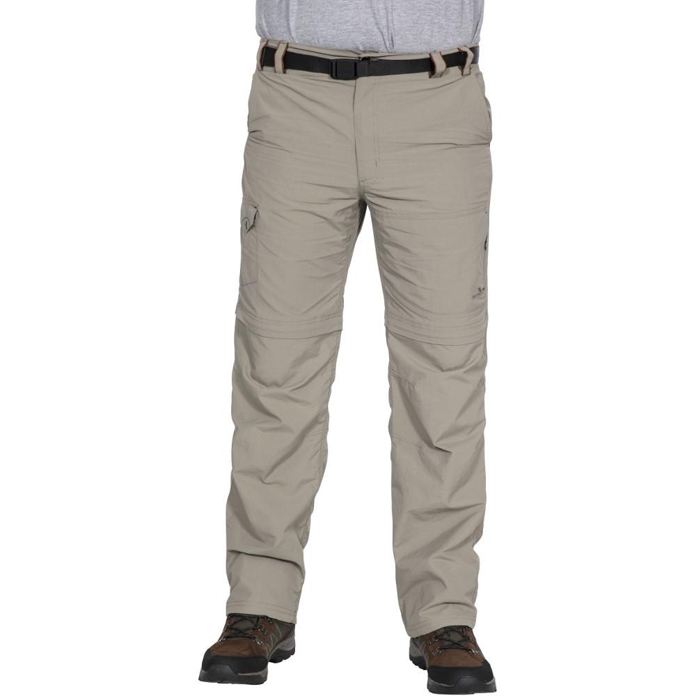 Trespass Mens Rynne Convertible Zip Off Walking Trousers L - Waist 36-38 (91.5-96.5cm)