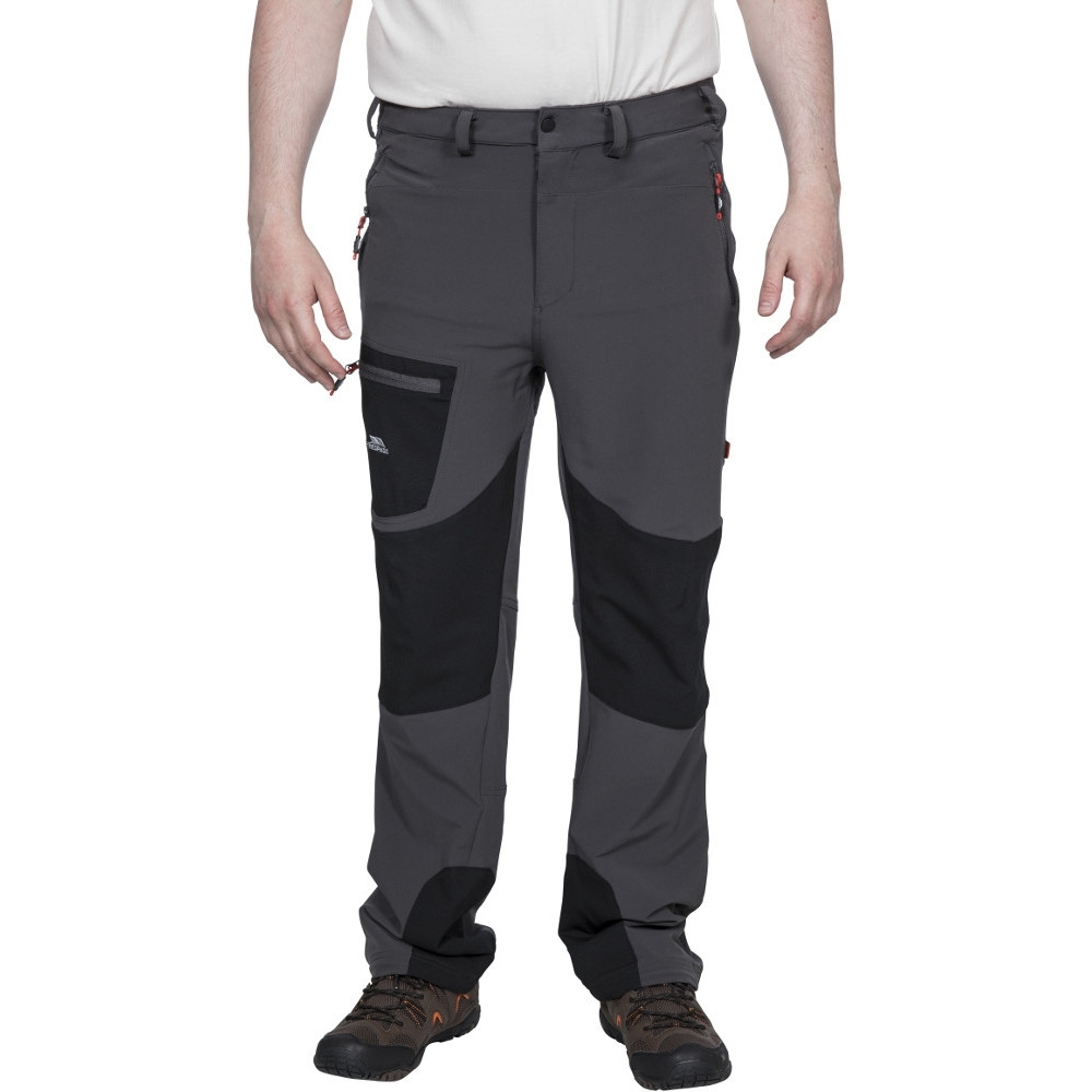 Trespass Mens Passcode Mosquito Repellent Walking Trousers L - Waist 36-38 (91.5-96.5cm)