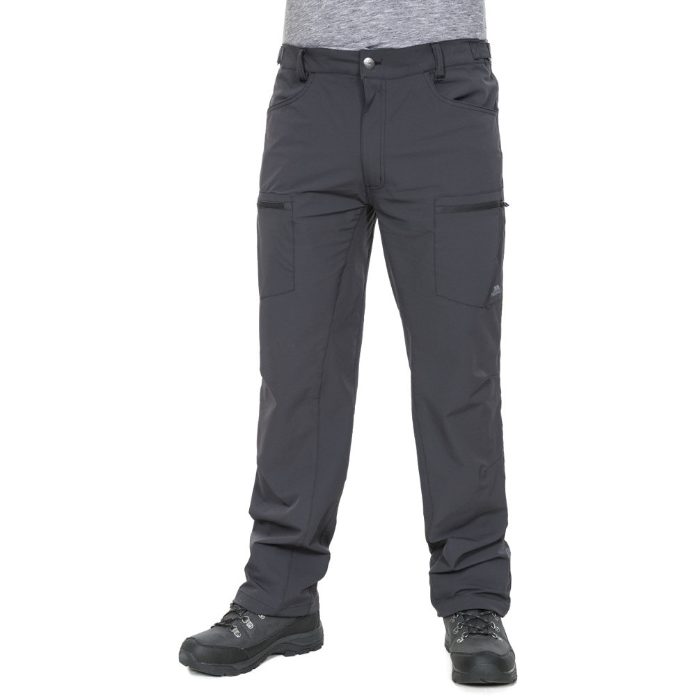 Trespass Mens Tuned Quick Dry Adventure Walking Trousers L - Waist 36-38 (91.5-96.5cm)