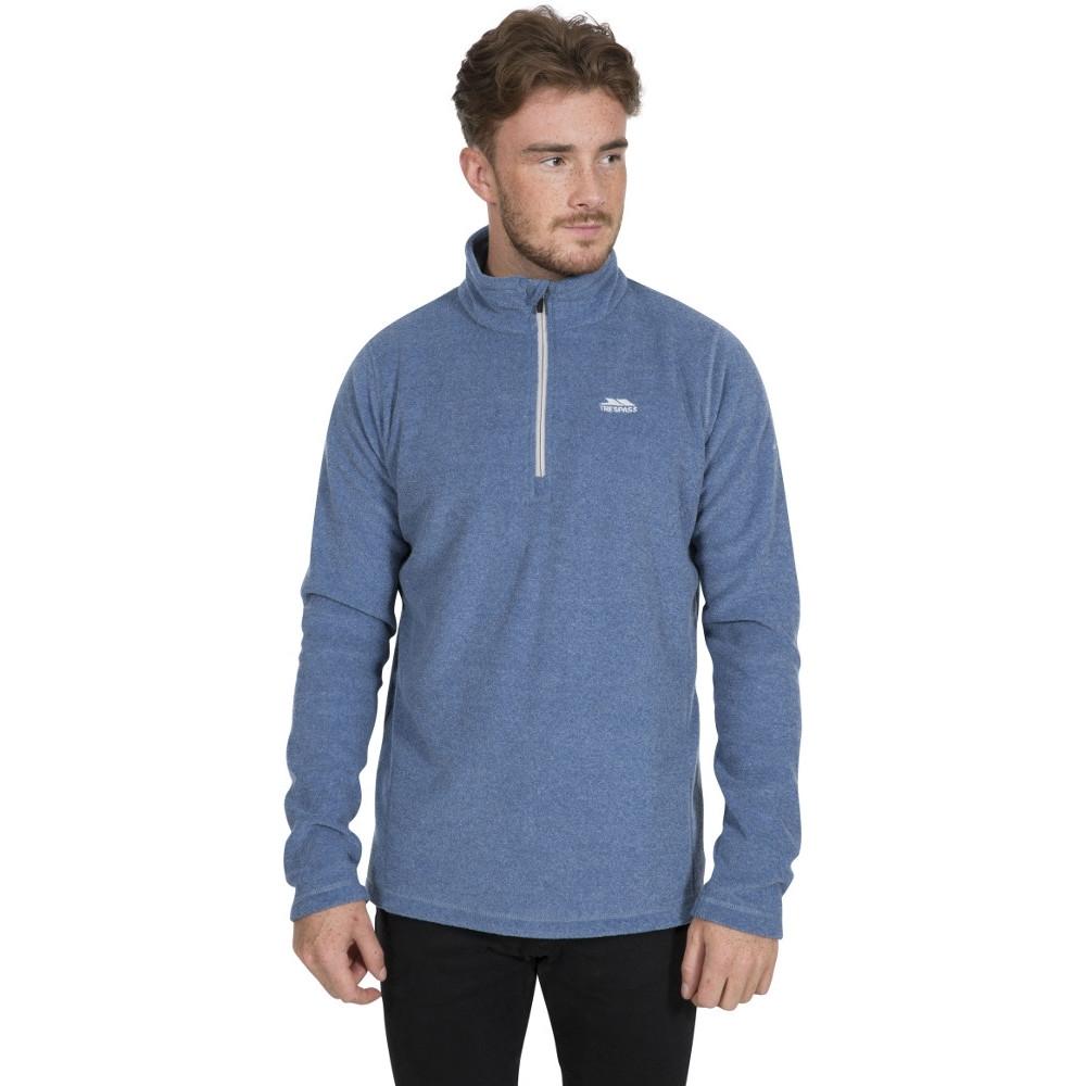 Trespass Mens Tandle Half Zip Fleece Jacket S - Chest 35-37 (89-94cm)