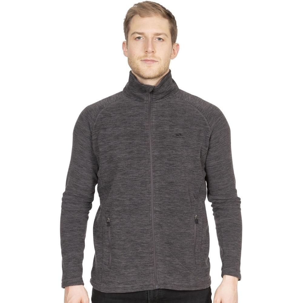 Trespass Mens Veryan Full Zip Marl Fleece Jacket Xl - Chest 44-46 (111.5-117cm)